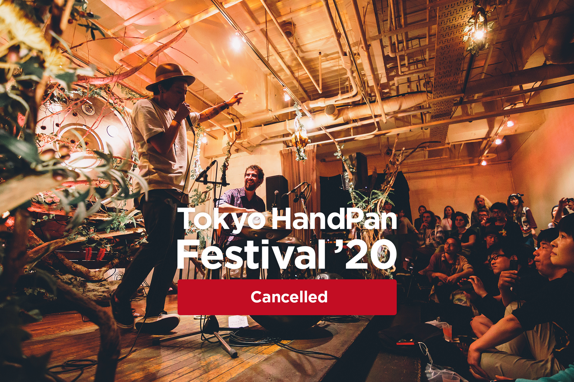 Tokyo HandPan Festival '20 Cancelled